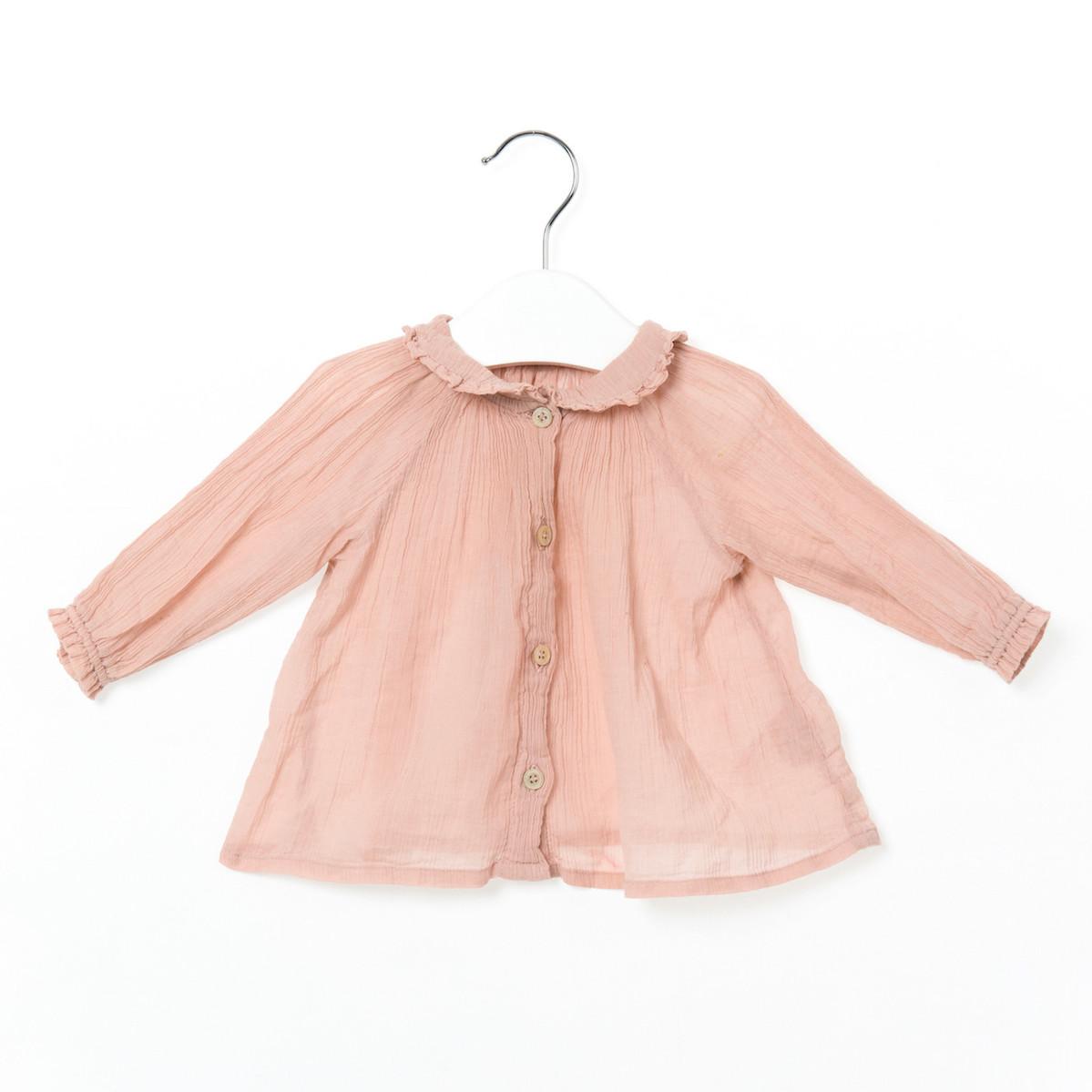 Pale Pink Top 3-6M