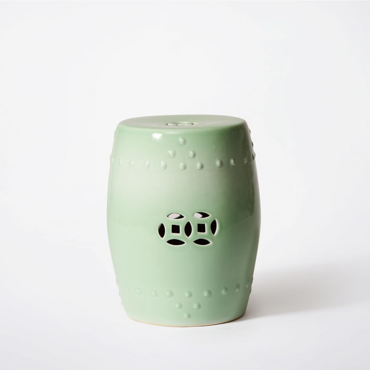 Celadon Garden Stool & Bowerbird Homeu0027s china Celadon Garden stool is a multi-purpose ... islam-shia.org